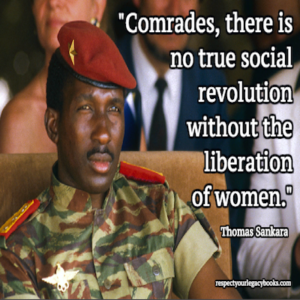 Thomas Sankara Quotes