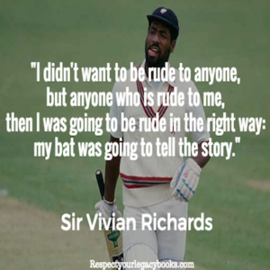 Vivian Richards Quotes - 2