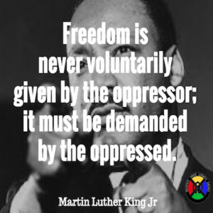 Martin Luther King Jr Freedom Quote