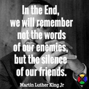 Martin Luther King Jr Silence Quote