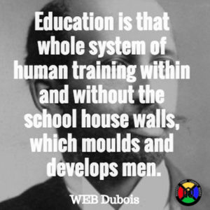 WEB Dubois Quote - Education