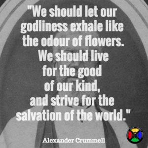 Alexander Crummell Quote - Salvation