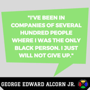 George Edward Alcorn Jr Quotes - Persistence