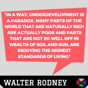 Walter Rodney Quotes - Paradox